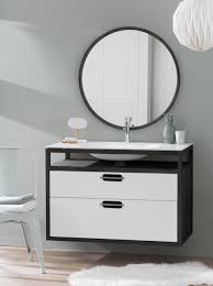 Wall Mounted Bathroom Vanity by Modern Love Black U0026 White U0027cloud U0027 Wall Mounted Bathroom Vanity By