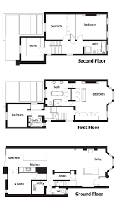 14 best floor plans terraces images on pinterest terraced house