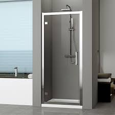 Shower Door 720mm Novellini Kuadra G Hinged Shower Door 780 Chrome Finish Kuadg78 1k