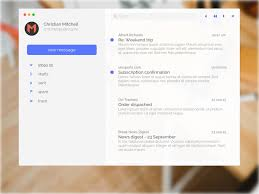minimal mail app for mac sketch freebie download free resource