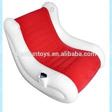 single sofa chair inflatable chair with speakers flocking pvc lounge chairs soft