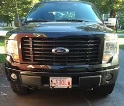 Led Grill Light Bar by Led Light Bar To Fit Behind Grill On 2014 Stx Sport Ford F150