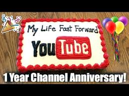 1 year on youtube channel anniversary shout out video my