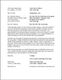 formal business letter format best solutions of example of a