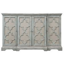 small accent cabinet with doors furniture sophie weathered gray four door cabinet uttermost