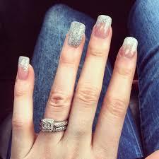 silver tips solar nails hair u0026 beauty pinterest solar nails
