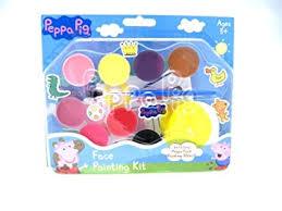 peppa pig face painting kit amazon uk toys u0026 games