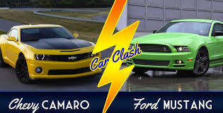 ford mustang chevy camaro car clash chevy camaro vs ford mustang gm authority