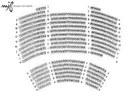 fox theater floor plan seating plan michael j fox theatre