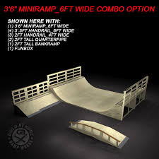 3 5ft micro mini ramp 6ft wide half pipe ramp works