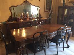 sedie chippendale usato tavolo con sei sedie chippendale anni 30 in 41121 modena su
