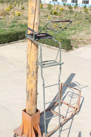 ts006 16 5 one ladder stand steel tree stand buy