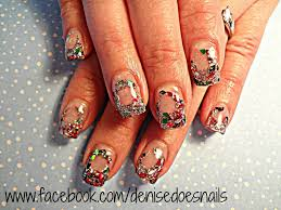 nail art by denise groves the rest of the christmas nails