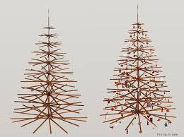 wooden christmas tree wood christmas tree the top modern wood christmas trees if its hip