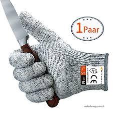 gant anti coupure cuisine de gants anti coupures mycarbon gants de cuisine maniques résistant