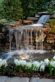 originales fuentes de diseño moderno cascadas estanques y