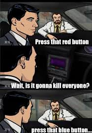 Archer Danger Zone Meme - this is why i love krieger danger zone tvs and sterling archer