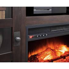 whalen media fireplace console for tvs up to 70