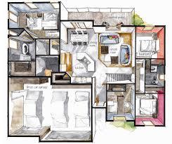 Floor Plan Interior 30 Best 3d Floor Plan Images On Pinterest Free Floor Plans