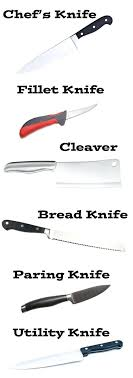 kitchen knives uses types of kitchen knives japanese digitalcollective co