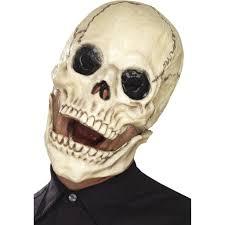 halloween skeleton mask buy day of the dead skull mask costume online u2013 costumecorner ie