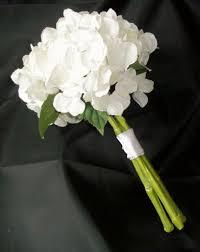 Bridesmaid Bouquets The 25 Best White Hydrangea Bouquet Ideas On Pinterest