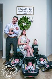 hodges half dozen bring home their last baby from hospital
