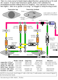 alternating flasher wireing diagram diagram wiring diagrams for