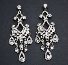 vintage wedding earrings chandeliers vintage wedding earrings bridal earrings classic chandelier