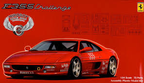 f355 challenge 1 24 f355 challenge fuj 126388 fujimi
