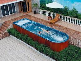 how to build a lap pool build above ground lap pool stylid homes enjoy summer with above
