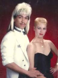1980s prom 80s prom photos will take you back to when bangs where as high as