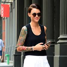 ruby rose color swatch tattoo popsugar beauty