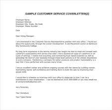customer service email cover letter pdf template free download jpeg