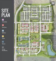luxury loudoun county townhouses at westmoore u2013 siteplan