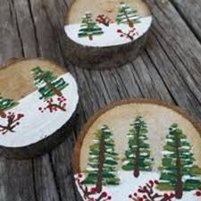 wooden ornaments to paint for rainforest islands ferry