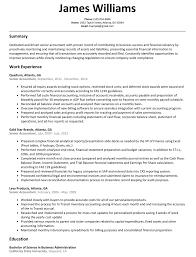 resume format for accountant documents senior accountant resume sle resumelift com