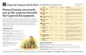 Caprock Canyon State Park Map by Archives Fit Forty Hiker