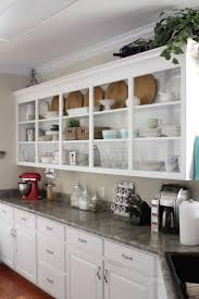 Unusual Kitchen Cabinets by Kitchen Room Interesting Kitchen Cabinets With Open Shelves On