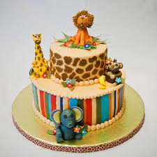 zebra print baby shower1 year birthday party locations 44 best baby shower jungle safari cakes eats images on