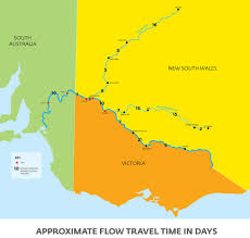 Travel Time Map Sawater River Maps