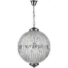 Chrome Ceiling Lights Uk Dar Lighting Equator 12 Light Ceiling Pendant In Polished Chrome