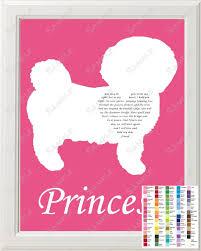 bichon frise quilt rainbow bridge bichon frise pet memorial love poem bichon