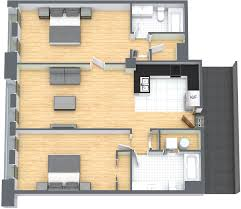 2 Bedroom Condo Floor Plan 2 Bedrooms 2 Bathrooms Luxury Downtown Montreal Condo Apartment