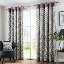 purple curtains wayfair co uk