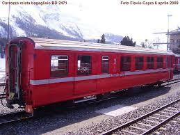 carrozze treni storia e treni della ferrovia bernina trenino rosso kleine