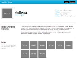 resume html template 30 free html resume template collection xoothemes