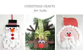 Kid Crafts For Christmas - christmas crafts for kids improvements blog