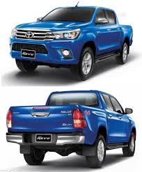 fit 2015 2016 toyota hilux revo fog lamp light spot light pickup