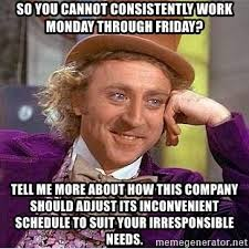 Monday Work Meme - work meme